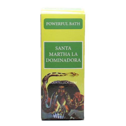 Spiritual Bath Santa Martha La Dominadora Bano Santa Martha la Dominadora