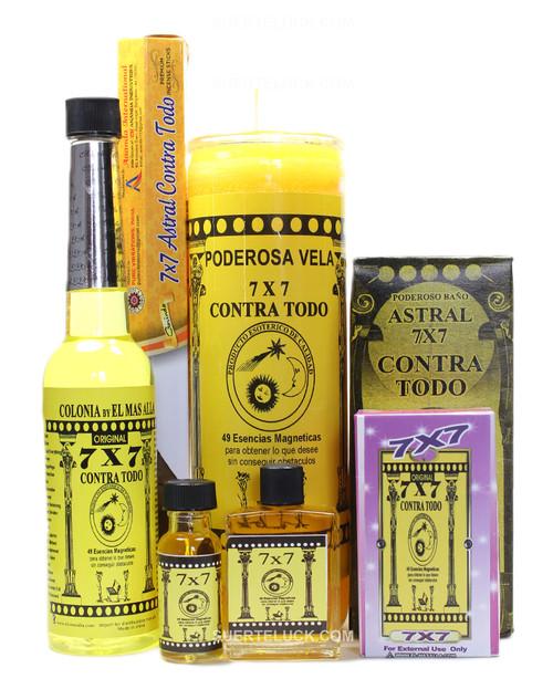 7x7 Against All Spiritual Ritual  Esoteric Kit  Contra Todo