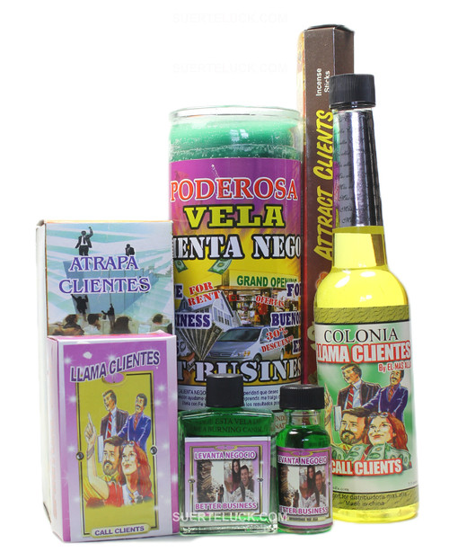 Attract Clients spiritual ritual Bath  Scented Candle  Incense sticks  Cologne Oil Perfume  Soap