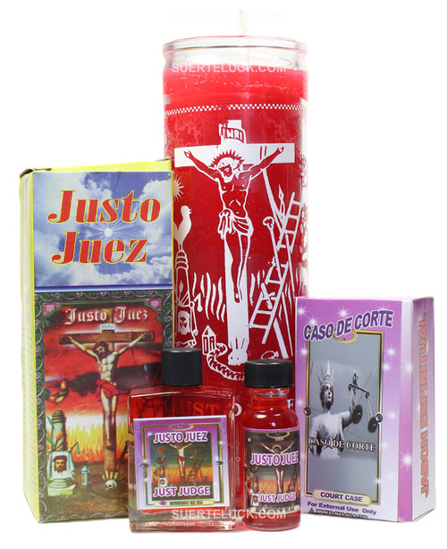 Justo Juez Ritual  Bath  Candle  Soap Oil Perfume