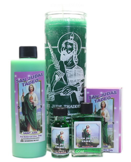 Saint Jude spiritual ritual San Judas Bath wash Candle Soap Perfume Oil