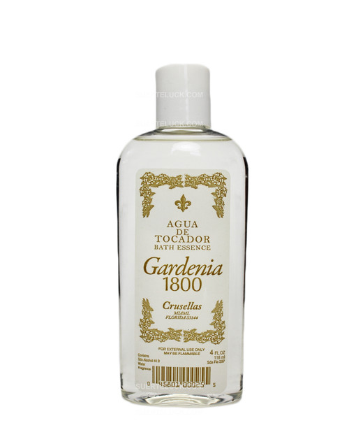 Gardenia 1800 Cologne  Colonia  4 ounces  Crusellas