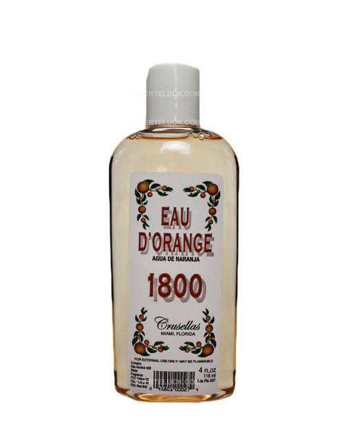 Colonia de Naranja 1800 Agua  Cologne  Crusellas  4 ounces