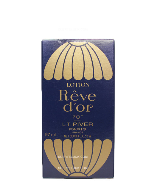 Lotion Reve d'or Colonia  Packaging  L.T. Piver