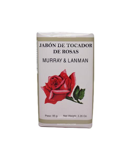 Jabon Espiritual de Rosas 3.35 ounces  Hecho en Peru