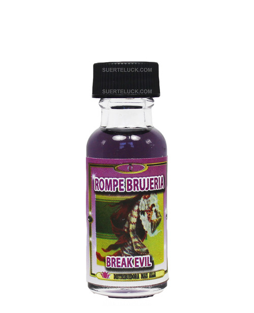 Spiritual oil Rompe Brujerias  Break Evil oil  0.5 ounces