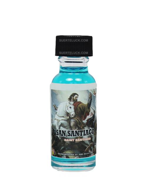 Aceite Espiritual San Santiago  Oil  0.5 ounces.