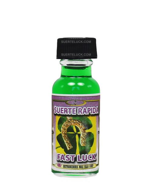 Aceite Espiritual Suerte Rapida  Fast Luck oil  0.5 ounces