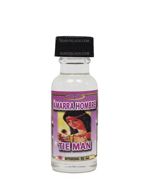 Aceite Espiritual Amarra Hombre  Tie Man oil  0.5 ounces