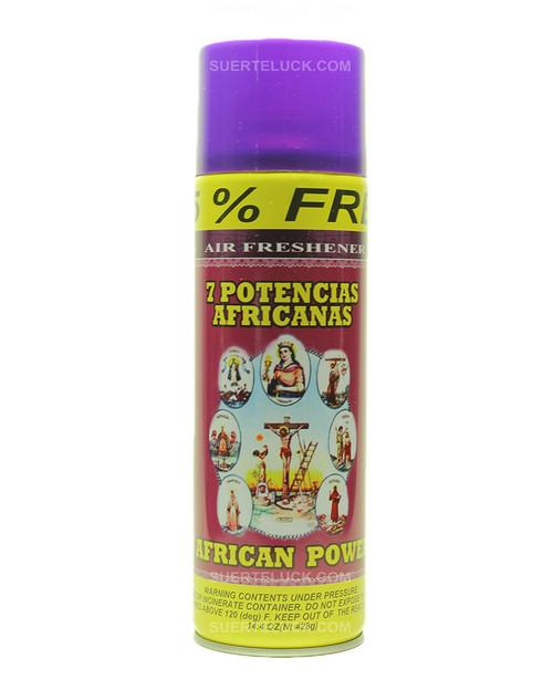 7 African Powers  Air Freshener  Aerosol  Spray  7 Potencias Africanas
