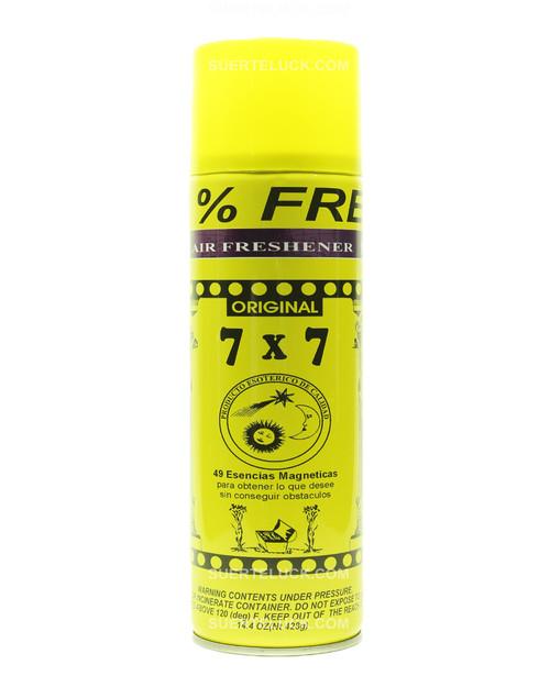 7x7 Against All  Aerosol  Air Freshener  Spray  Contra Todo