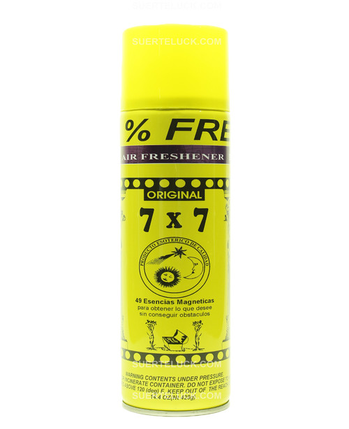 7x7 Against All  Aerosol  Air Freshener  Spray  Contra Todo