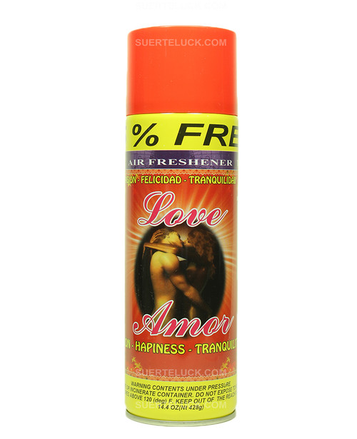 Amor  Aerosol  Air Freshener  Spray  Amor