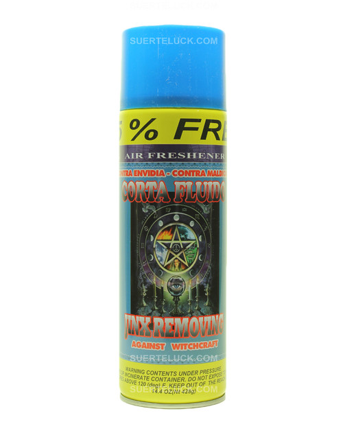 Jinx Removing  Aerosol  Air Freshener  Spray  Corta Fluido