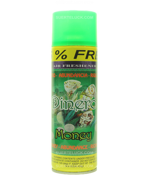 Money  Aerosol  Spray  Air Freshener  Dinero