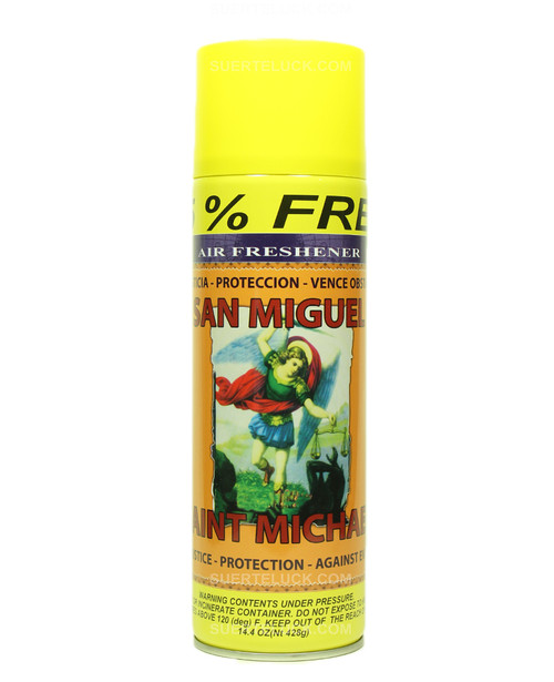 Saint Michael  Air Freshener  Aerosol  Spray  San Miguel