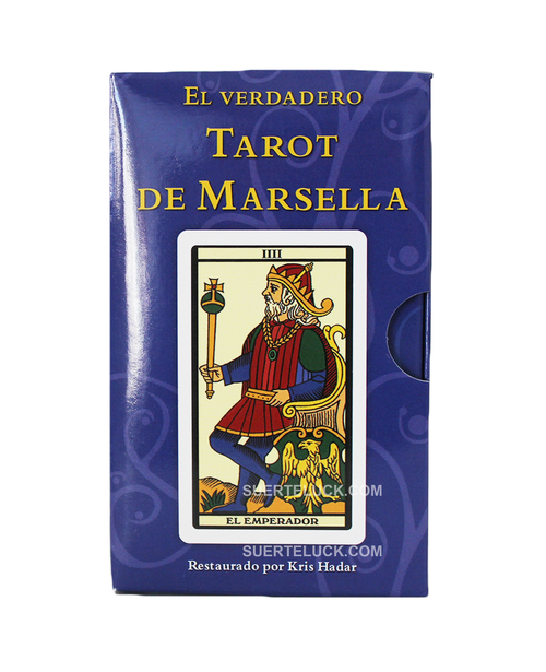 El Verdadero Tarot De Marsella  Empaque Kris Hadar