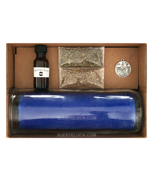 Protection Candle Spell  Ingredients  Kit  Hechizo Y Conjuro Para La Proteccion