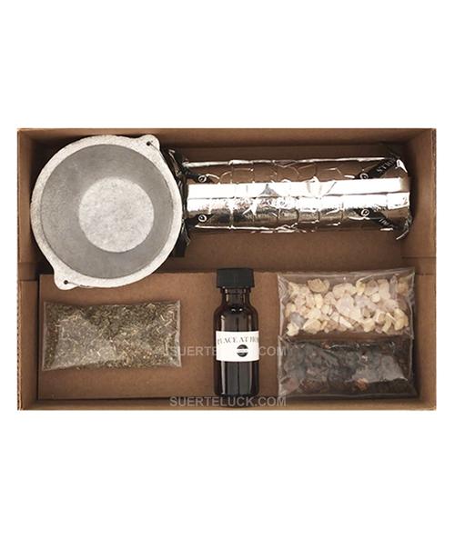 Happy Home Incense Spell  Ingredients Kit  Hechizo Y Conjuro Para Paz En Hogar