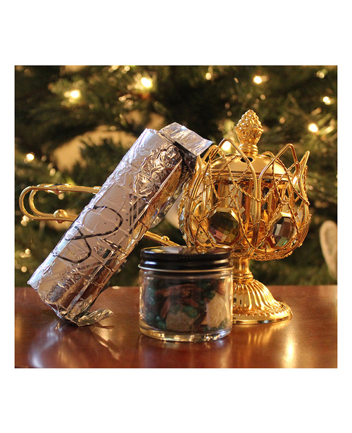 12 Day Incense Burning Kit  Christmas  New Years  Frankincense  Myrrh