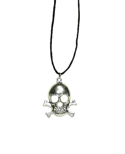 Cross Bone  Skull  Charm
