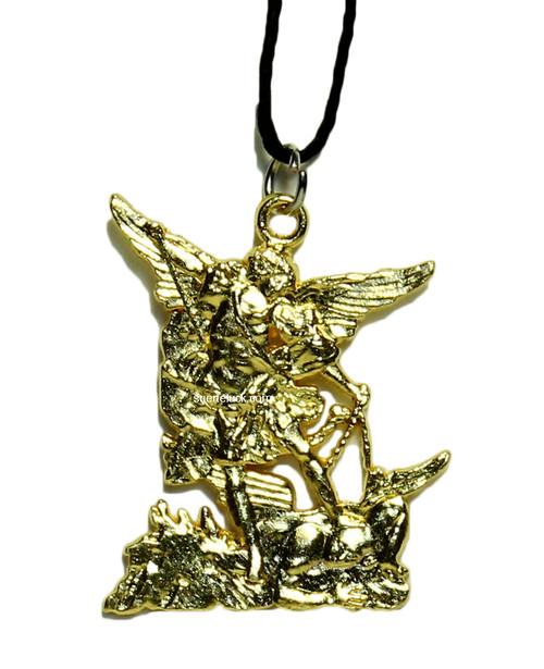 Saint Michael  Charm  Necklace  San Miguel