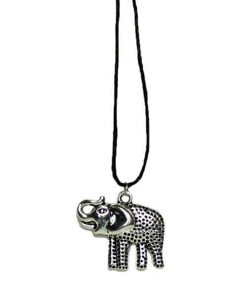 Lucky Elephant  Charm  Necklace