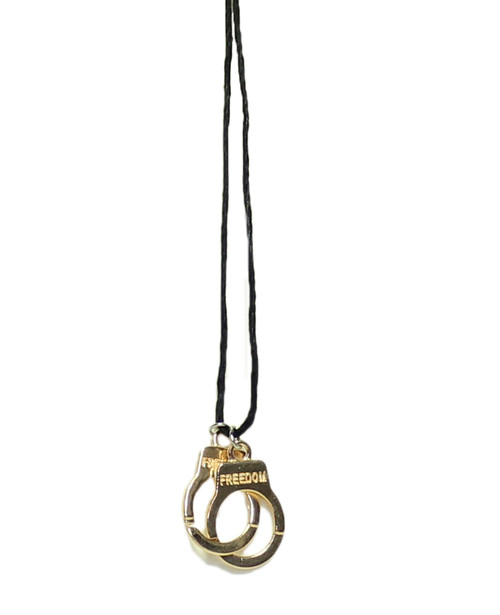 Handcuff  Charm  Necklace