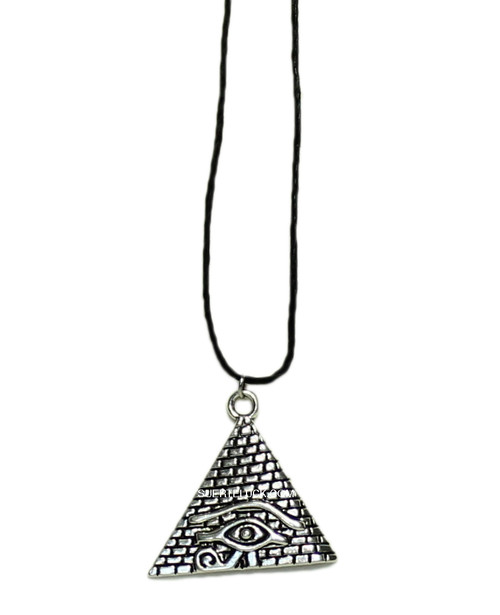 Eye of Horus  Pyramid Charm