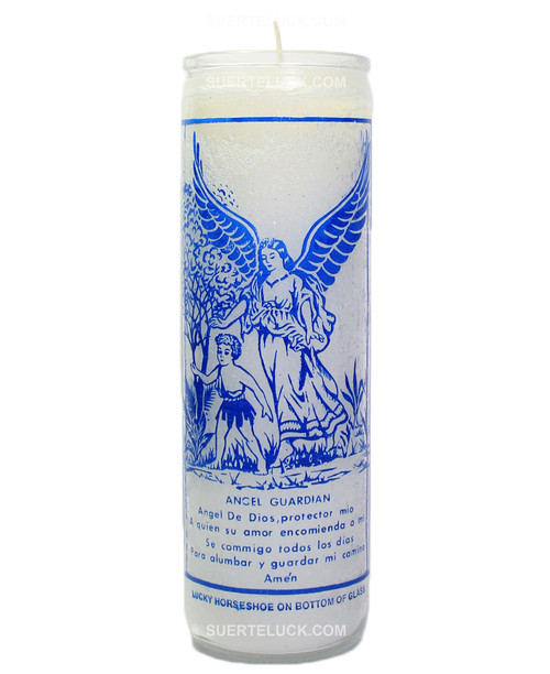 Guardian Angel Prayer Candle  Votive