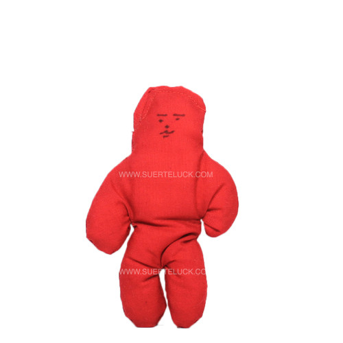 Red Voodoo Doll Male man