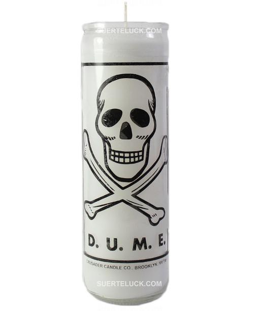 D.U.M.E Candle White Death Unto My Enemies
