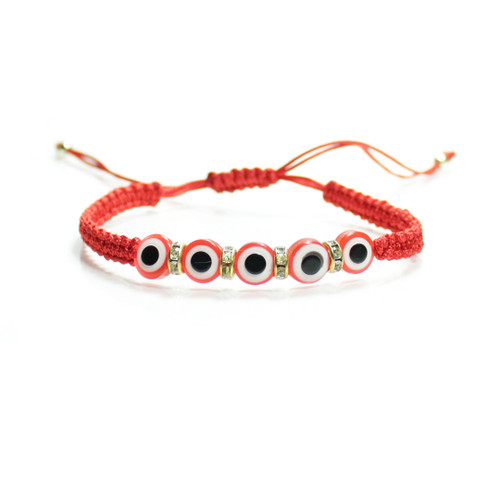 Red String Kabbalah  Evil Eyes  Bracelet