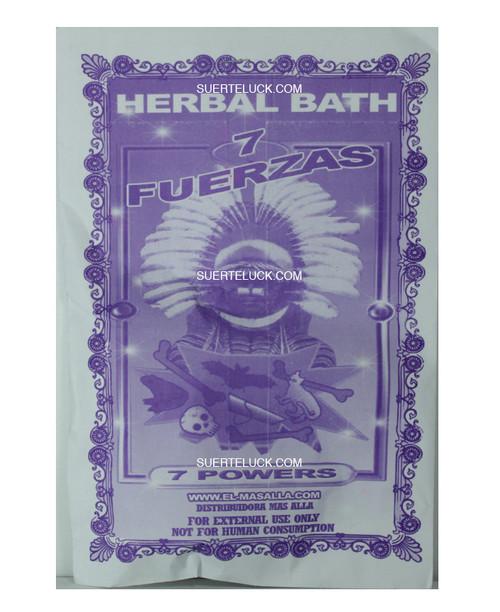 Planta 7 Fuerzas  Hierba  Spiritual herb bath