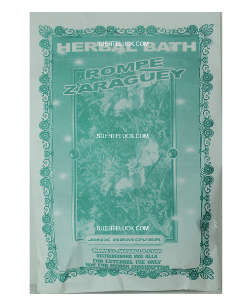 Planta Rompe Zaraguey  Hierba  Spiritual herb bath
