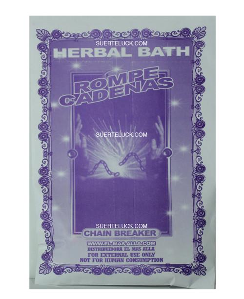 Planta Rompe Cadenas Hierba  Spiritual herb bath