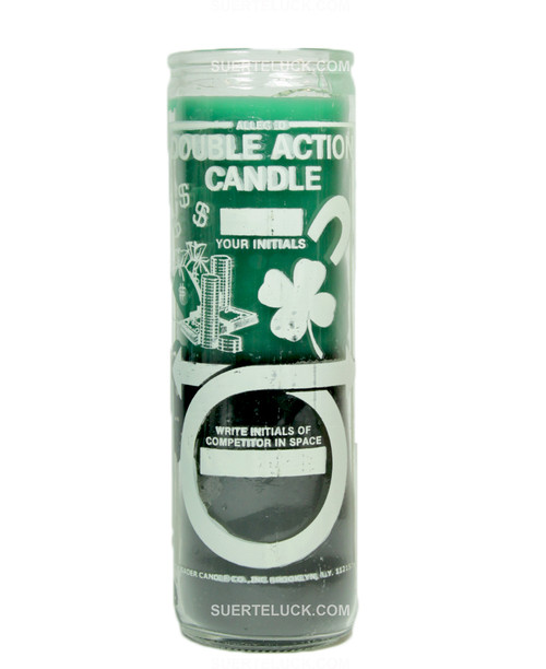 Double Action Money  Business  Candle