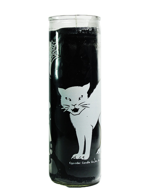 Black Cat Candle  7 Days Candle