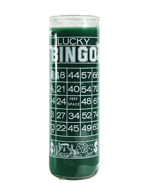 Bingo Print Candle  Magic  7 Days Candle
