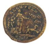1500s / 1600s GERMAN RECH PFEN MINERVA JETON TOKEN. 1.2 grams 20.5mm - 21.8mm.