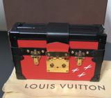 Louis Vuitton Petite Malle Cross Body Case Bag Clutch M50013