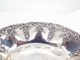 Beautiful Antique Duhme & Co 925-1000 Fine Silver Floral Design Bowl 106.01 g