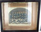SUPER RARE 1904 RUGBY UNION PHOTO. ALHAMBRA GORDONS PREMIERS, CHURCH UNION.