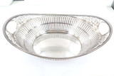 Vintage 1951 Dutch Silver .833 Pierced Out Ornate Fruit Bowl Hallmarked 379g