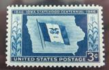 US STAMP. #942 1946 3c DEEP BLUE PSE GRADED XF-SUP 95, MINT OGnh.