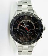 Tag Heuer Carrera Cal S Lap Time Retrograde Chronograph Steel Watch CV7A10