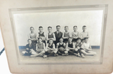 RARE 1920 DANVILLE HIGH SCHOOL, KENTUCKY,  BASKETBALL TEAM OFFICIAL PHOTO.
