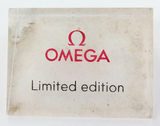 RARE OBSOLETE 1980s OMEGA LIMITED EDITION SCALENE TRIANGLE SHAPED DISPLAY