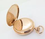Antique Patek Philippe Chronometro Gondolo 18k Pink Gold 55mm Pocket Watch