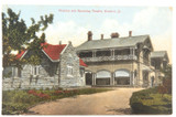 SCARCE c1910 WARWICK, QLD HOSPITAL & THEATRE POSTCARD. F. BARTON WARWICK No 2284